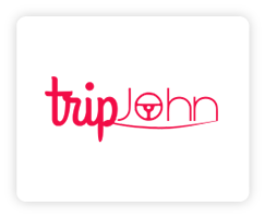 Trip John Rent a Car Logo